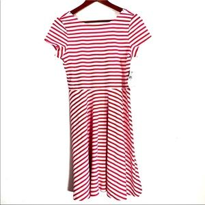 American Living | Pink And White Stripe Dress